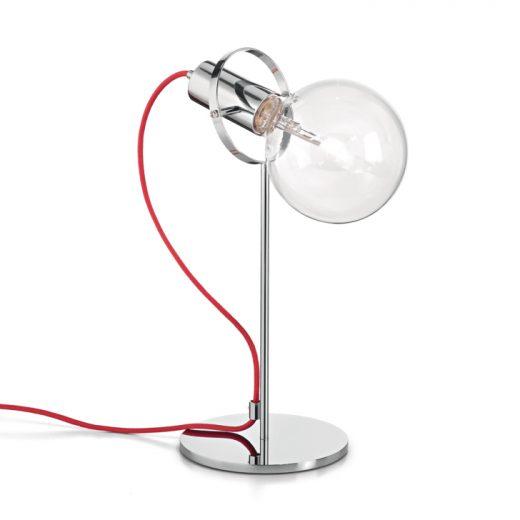 Moderná stolová lampa RADIO TL1 CROMO | Ideal Lux