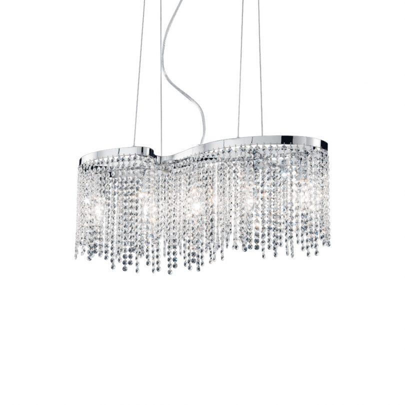 Elegantný sklenený luster AURORA SP5   Ideal Lux