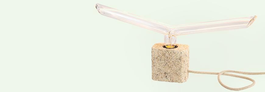 handmade stolové lampy