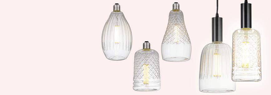 kryštálové žiarovky LED